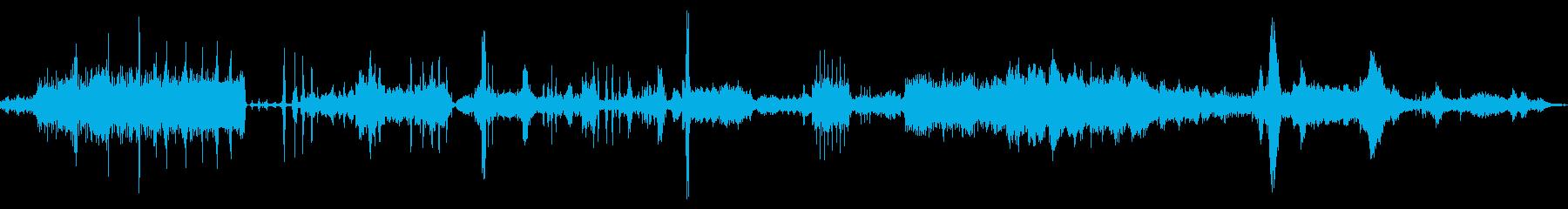 急速なロボットの変更、ロボットの誤...の再生済みの波形