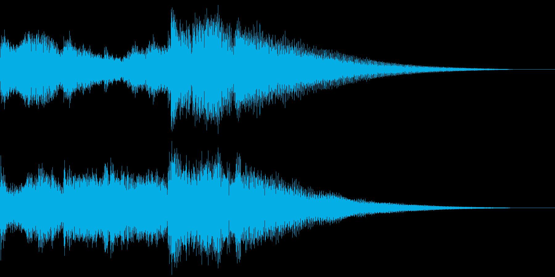 ちょっとオリエンタルなジングル の再生済みの波形