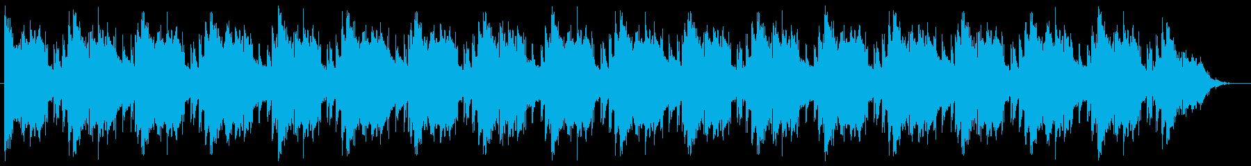 落ち着いたHiphop 旅/vlog/声の再生済みの波形