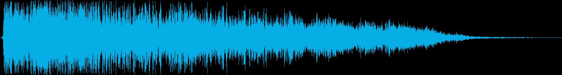 金属缶またはオイルドラム:爆発バー...の再生済みの波形