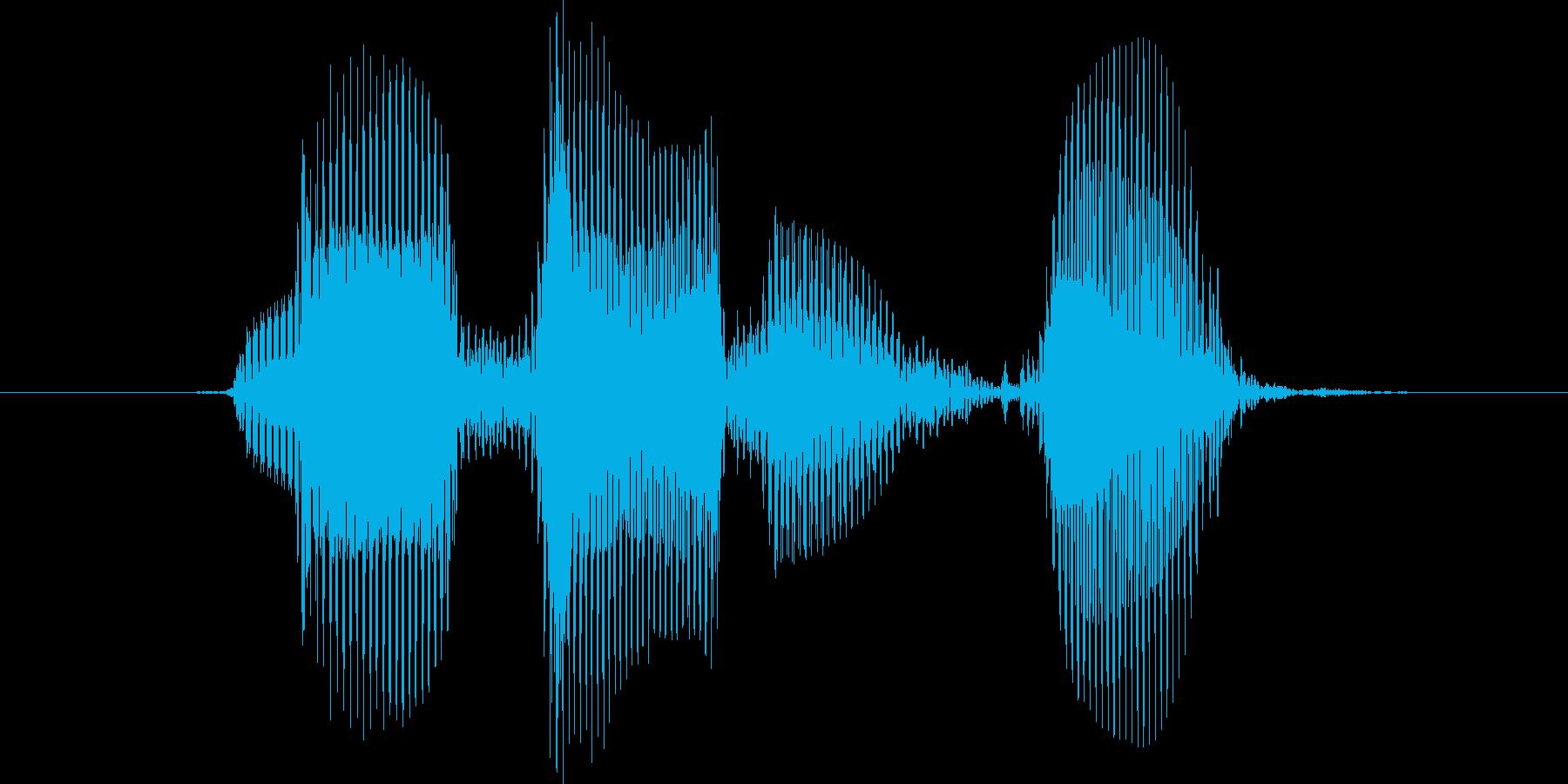 レベル5(ご)の再生済みの波形
