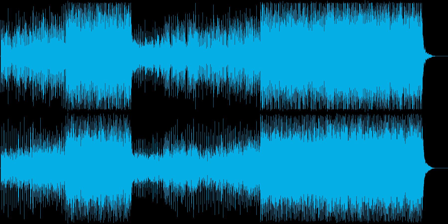 煌びやかで可憐なシンセポップスの再生済みの波形