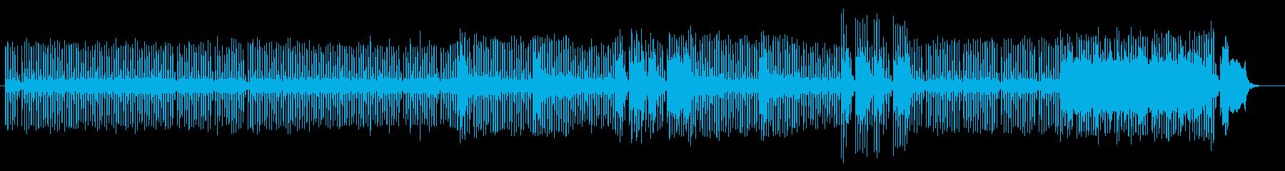 近未来的なミステリアスミュージックの再生済みの波形