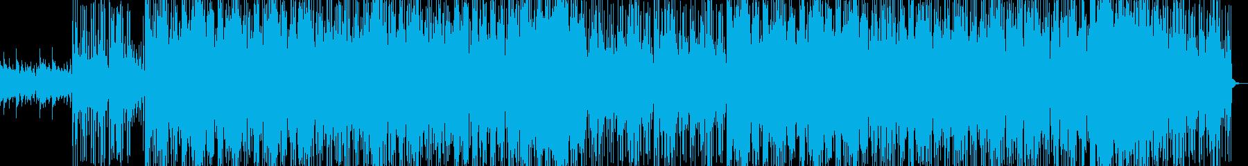中東風ヒップホップトラックの再生済みの波形