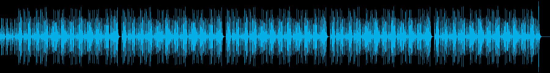 穏やか、ゆったり、木琴、YouTubeの再生済みの波形
