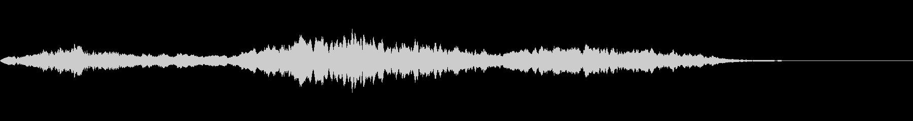 動画 環境 平和 フルート エアリアルの未再生の波形