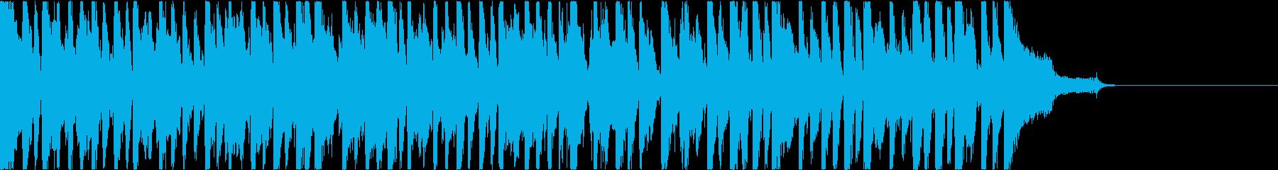 パズルゲーム向ゆるゆる系BGM 短縮版②の再生済みの波形