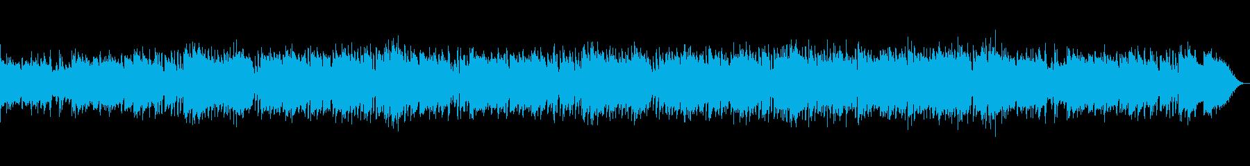 おしゃれで爽やかな夏の映像用ジャズの再生済みの波形