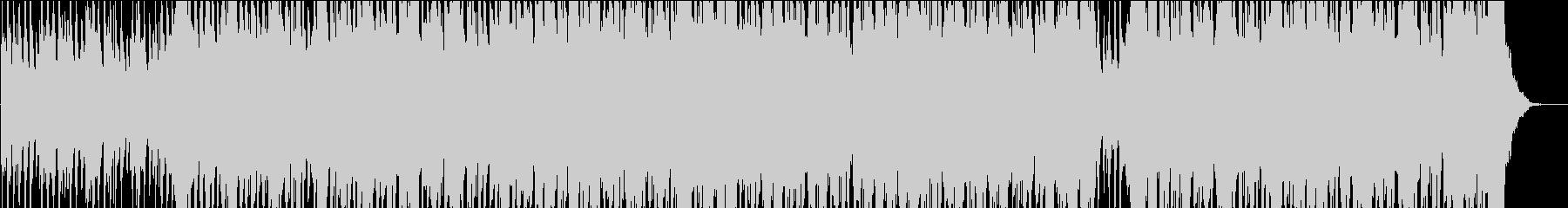 アップテンポなクリスマスBGMの未再生の波形