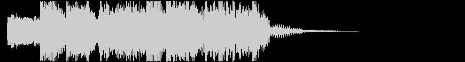 生演奏メタルなアイキャッチ7の未再生の波形