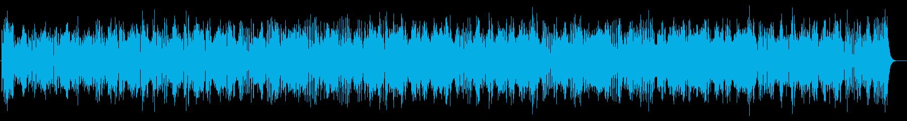 迫力とドキドキ感シンセサイザーサウンドの再生済みの波形