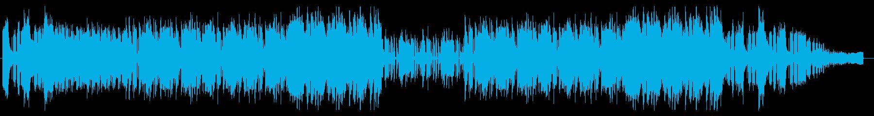 危険でスリリングなロックオーケストラの再生済みの波形