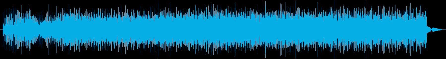 静的ザップの再生済みの波形