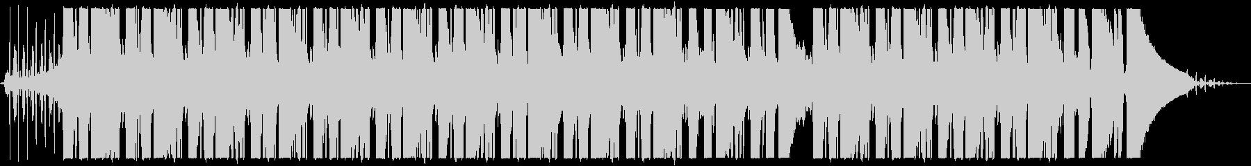 lo-fi楽曲 全編にノイズ入りの未再生の波形