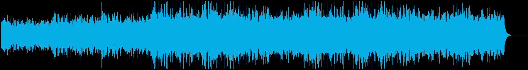 ファンタジーなゲームミュージックの再生済みの波形