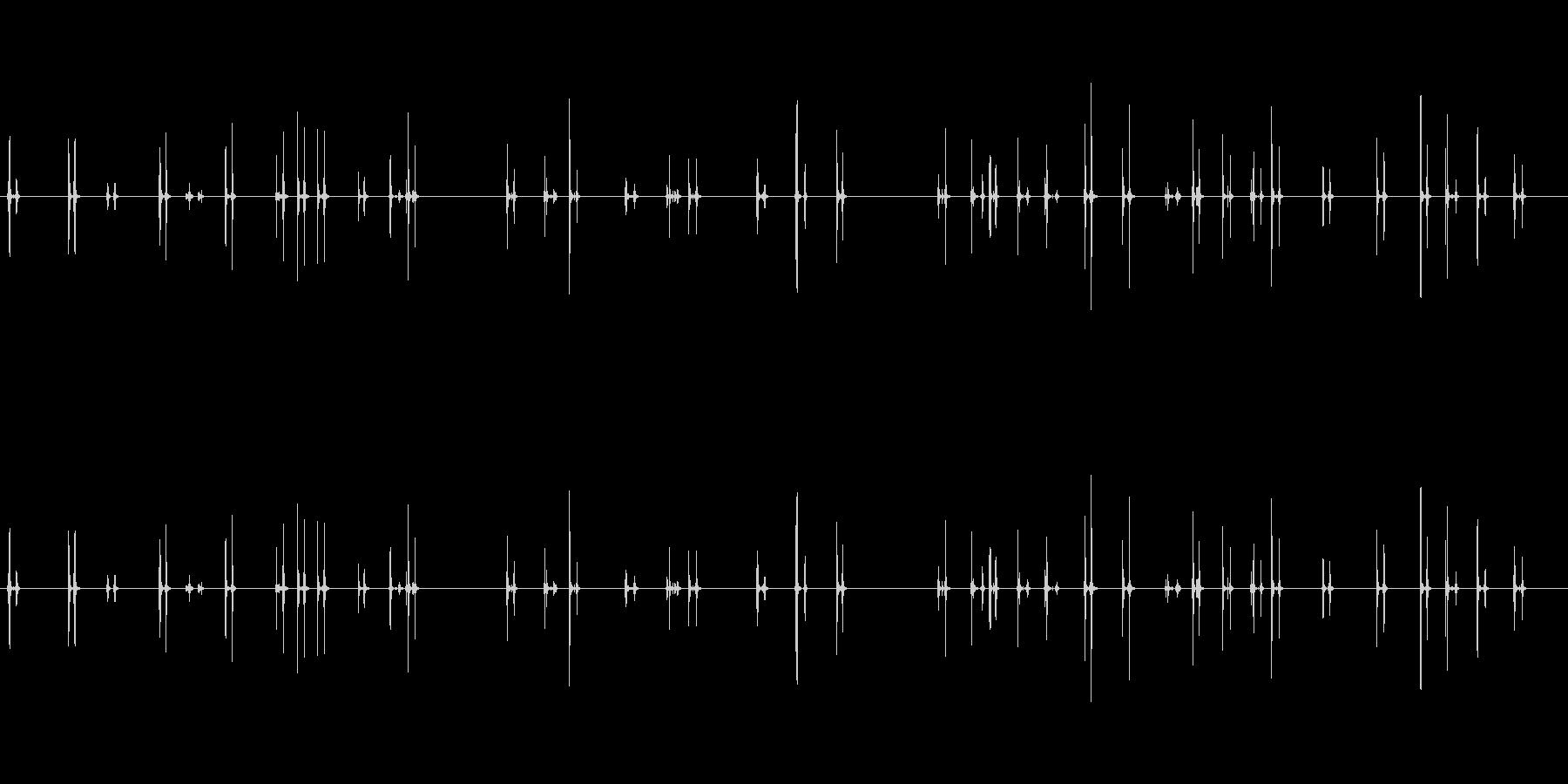 PC キーボード04-03(弱)の未再生の波形