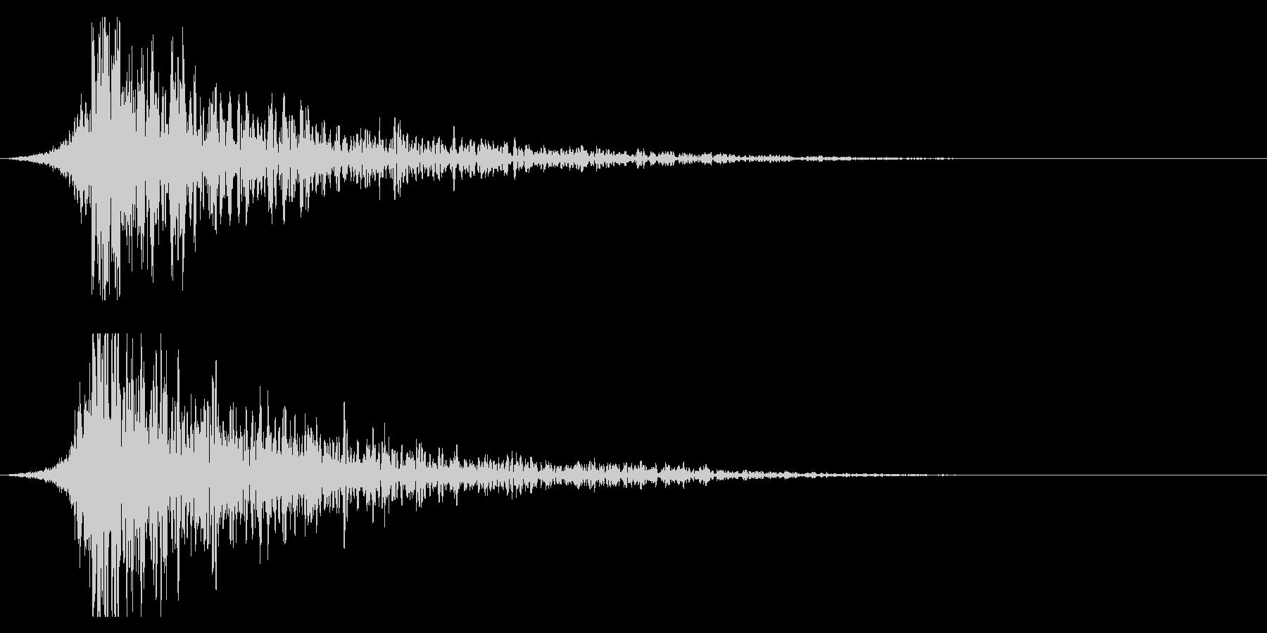 シュードーン-22-2(インパクト音)の未再生の波形