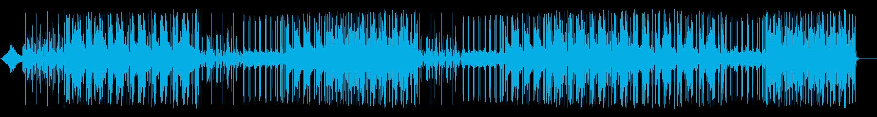 砂漠の風景をイメージ/Inst/Beatの再生済みの波形