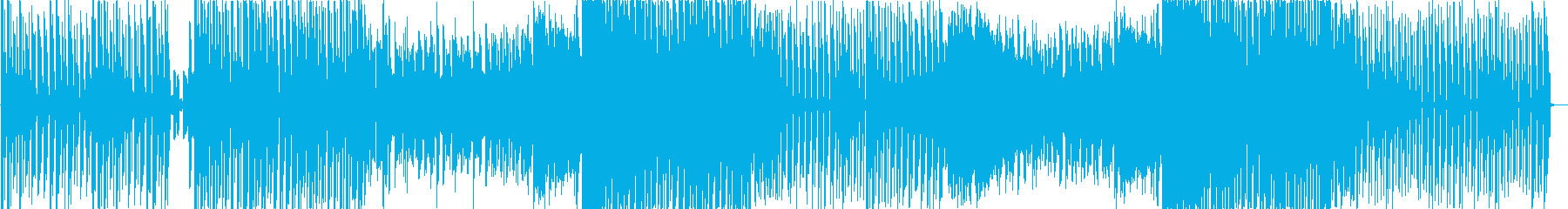キラキラ可愛いポップなダンスミュージックの再生済みの波形