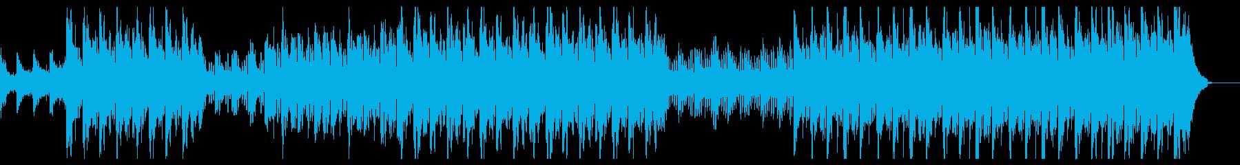 インスピレーションとオーケストラの音楽の再生済みの波形