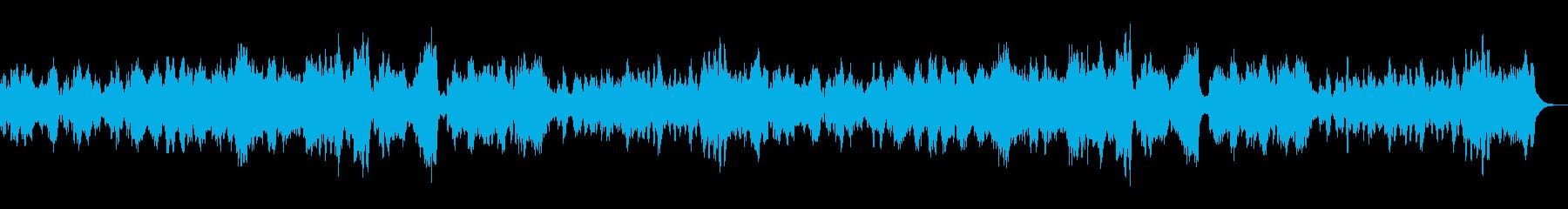 たのしい愉快な曲の再生済みの波形