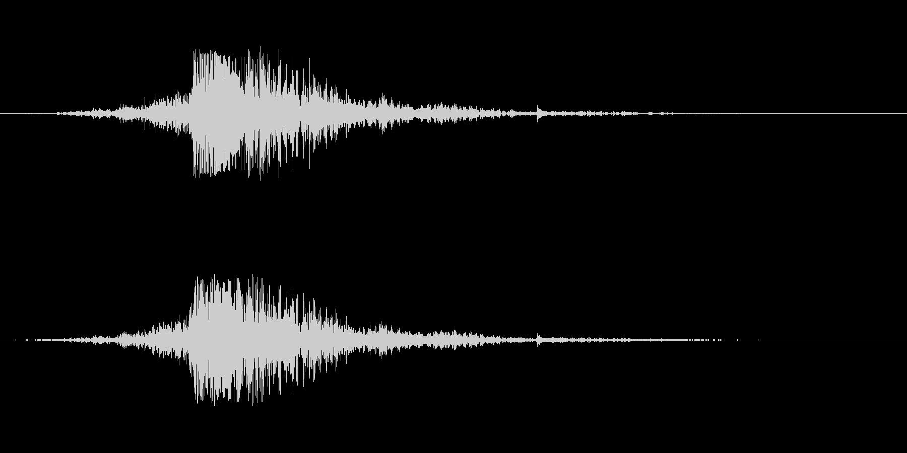 ワープ パーソナルジャンプスパークル01の未再生の波形
