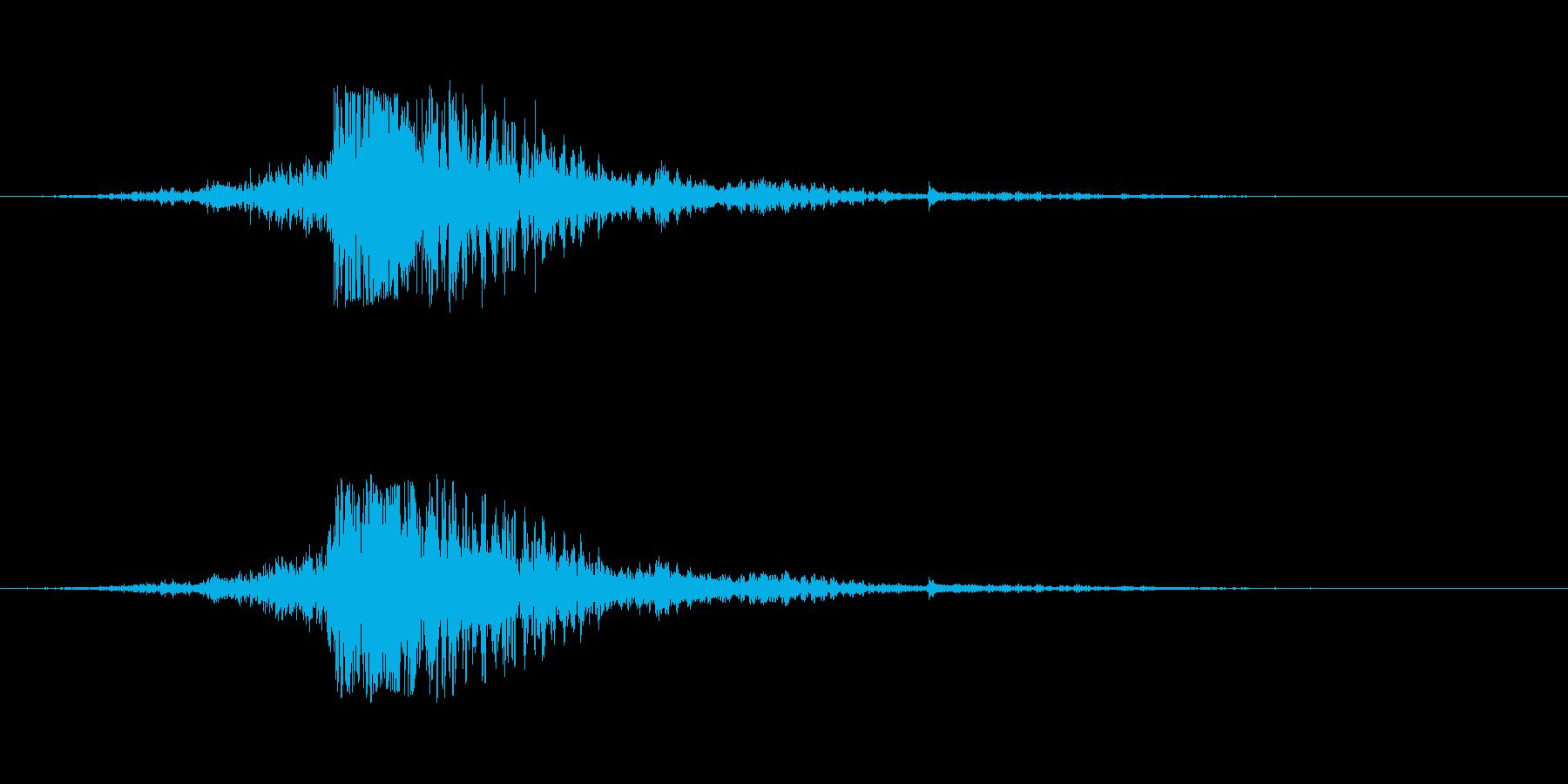ワープ パーソナルジャンプスパークル01の再生済みの波形