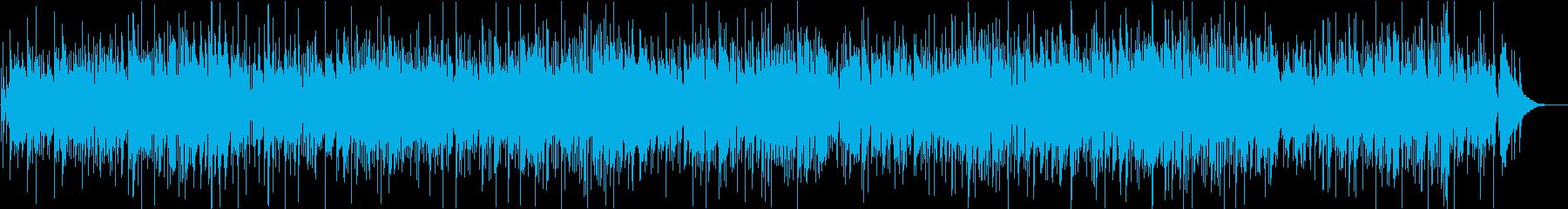 ウッドベースが効いてる爽やかジャズボッサの再生済みの波形