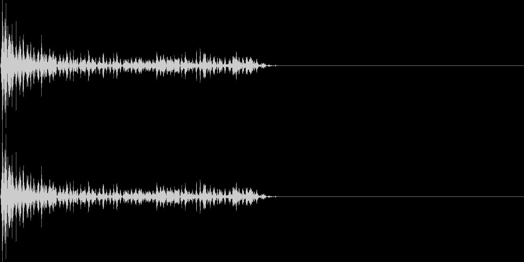ジュワーン(マイナスイメージ_ミス)の未再生の波形
