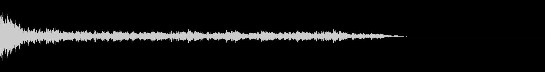 結果発表_ドラムロールの未再生の波形