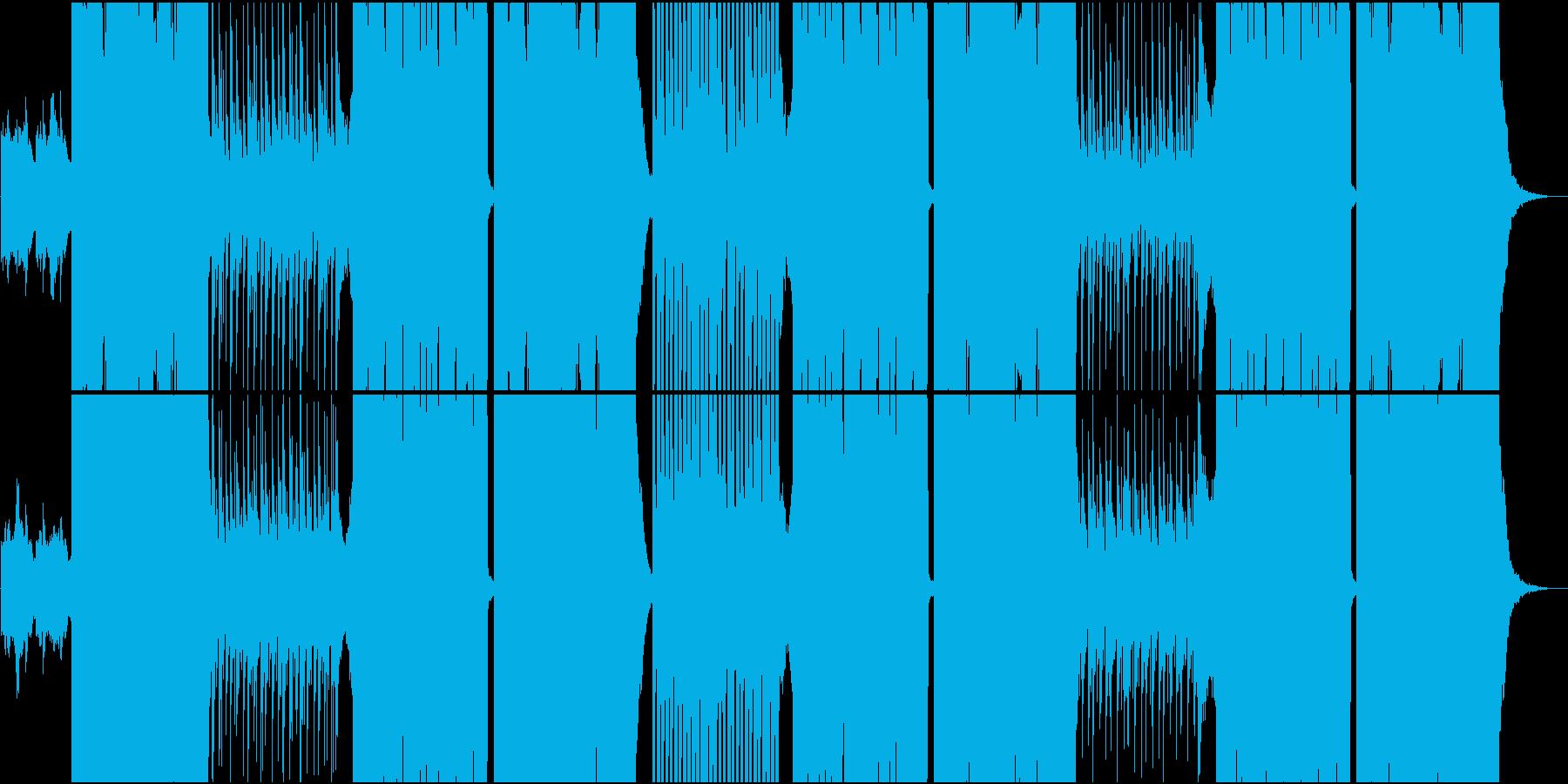 ポップでダンサブルFuture Bassの再生済みの波形