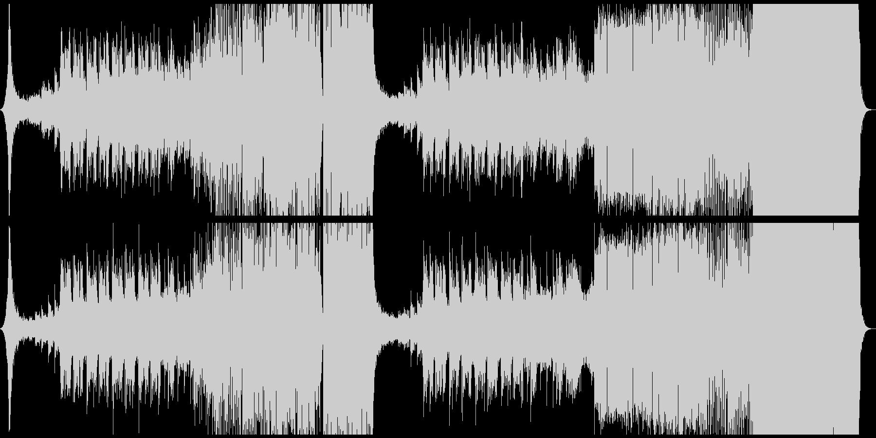 力強いシンセが特徴のダブステップEDMの未再生の波形