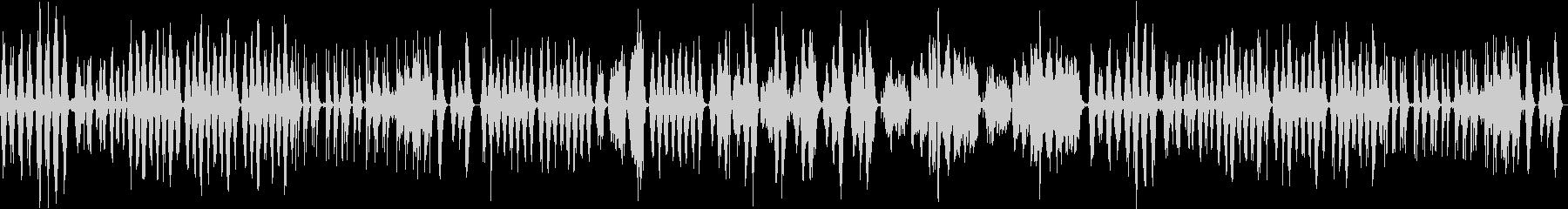 幻想的なアンビエントミュージックの未再生の波形