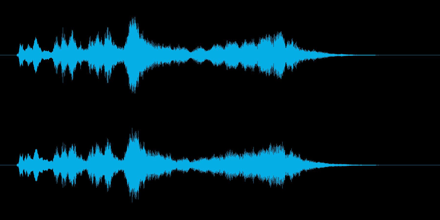 トランペット パンパカパーンの再生済みの波形