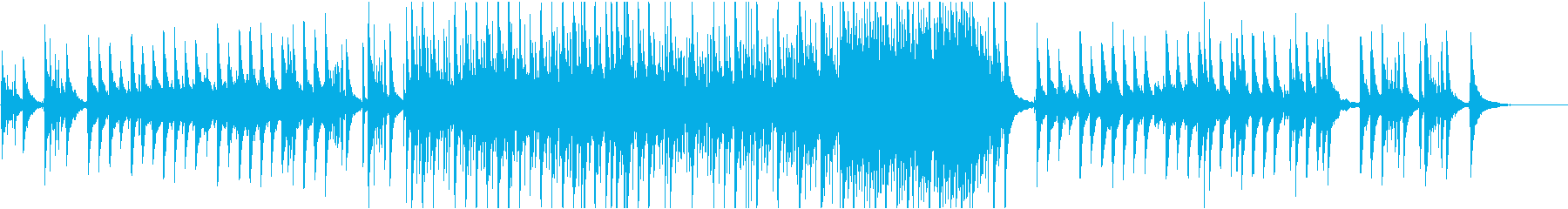 ピアノとアコギが爽やかなゆったりとした曲の再生済みの波形