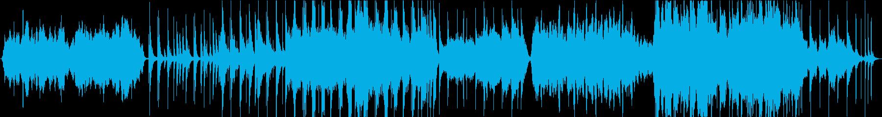 【生演奏】ゆったりした時が流れる弦楽器曲の再生済みの波形