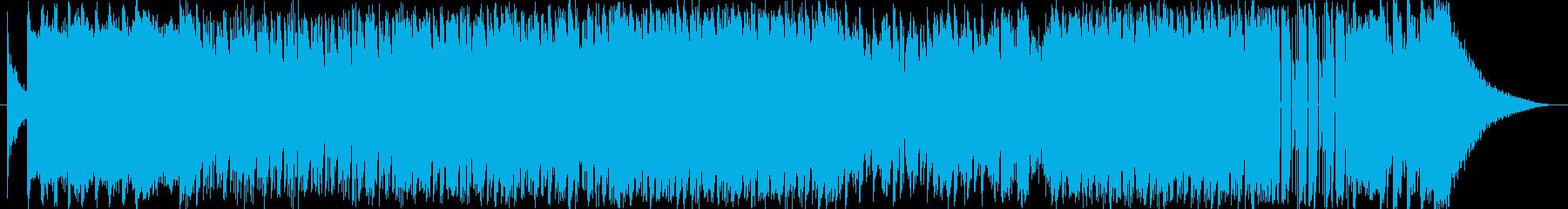 オープニングにうってつけエレクトロロックの再生済みの波形