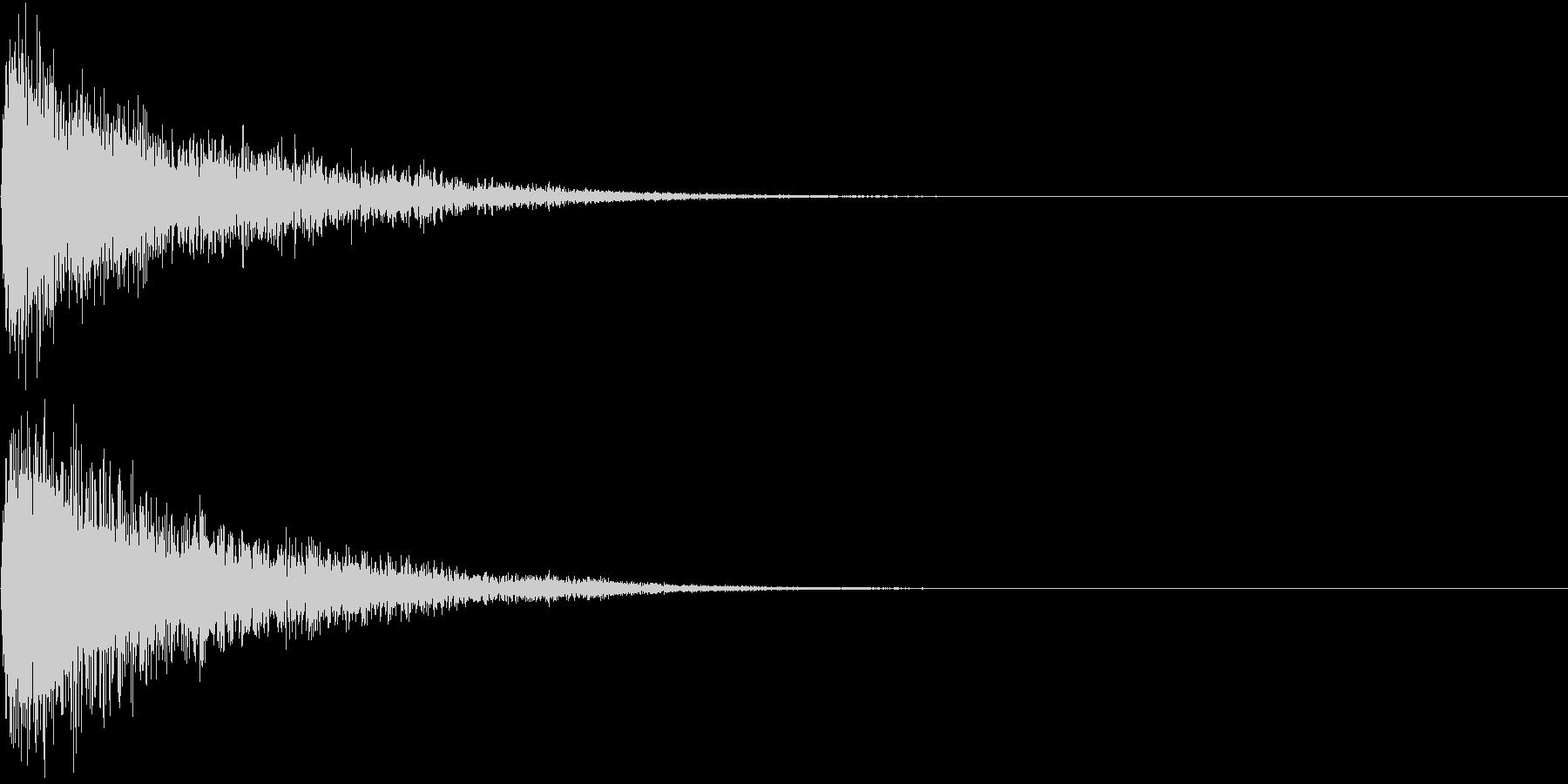 【サイバー】SFX_06 衝撃音の未再生の波形