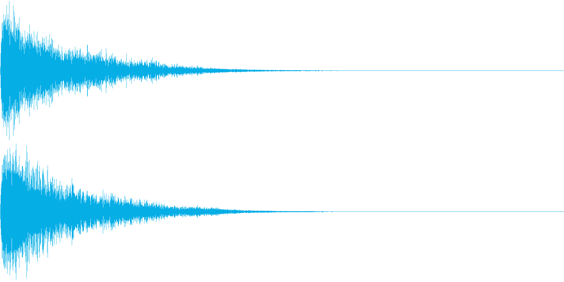 【サイバー】SFX_06 衝撃音の再生済みの波形
