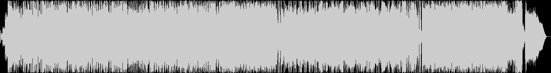 ダークファンタジーなイメージのロックの未再生の波形