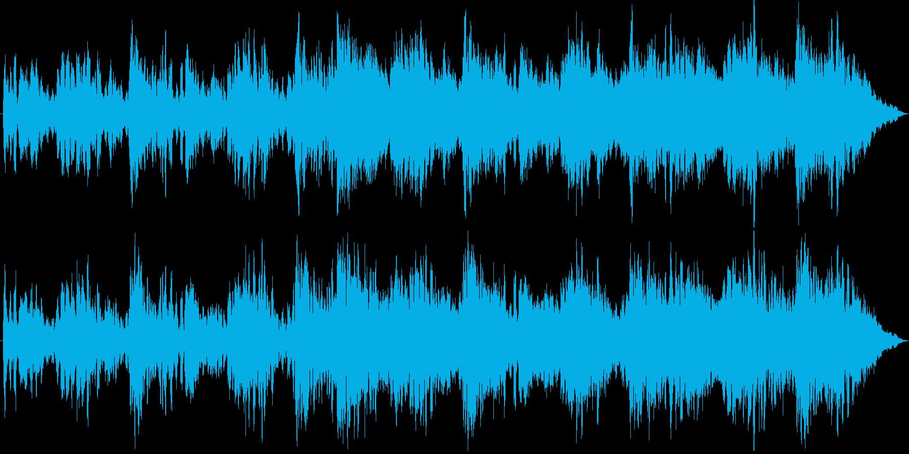 ジングル - 神秘!月面散歩のBGMの再生済みの波形