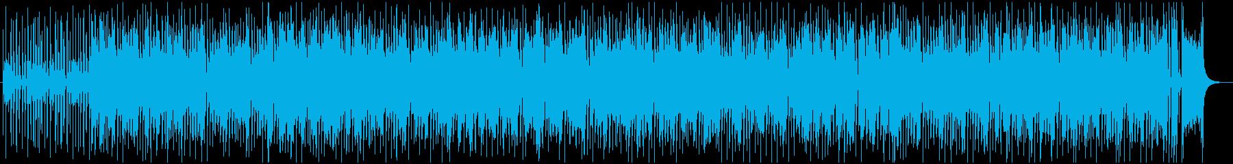 クールなジャンプブルース調ジャズもどきの再生済みの波形