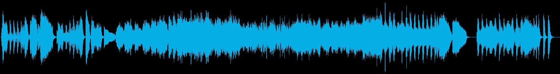 情熱的なバイオリン/クラシック名曲の再生済みの波形