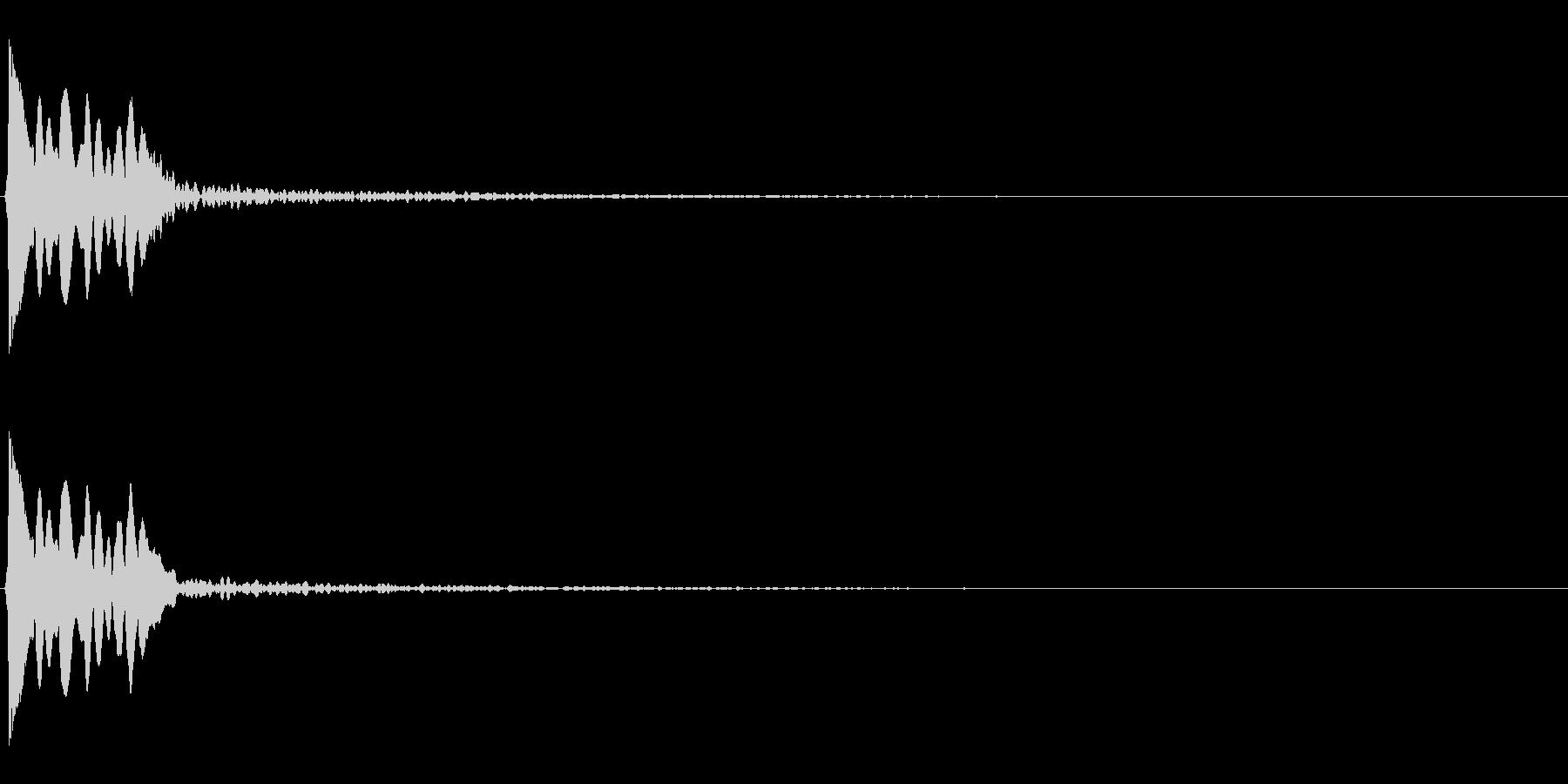 システム系SE07 キャンセル音07の未再生の波形