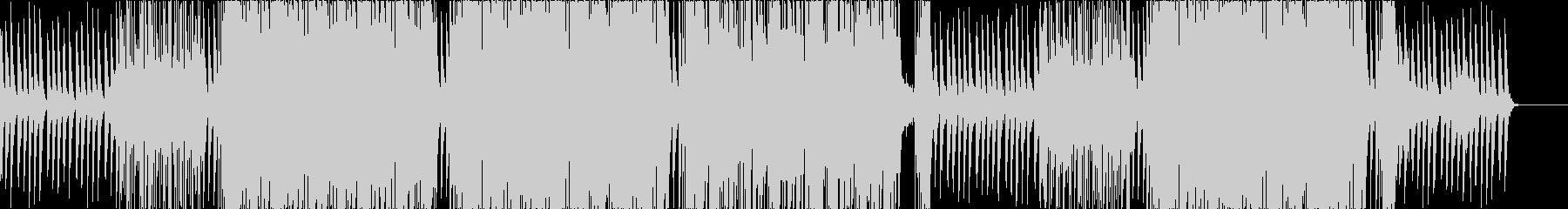 なんとなく爽やか系ドラムンベースの未再生の波形