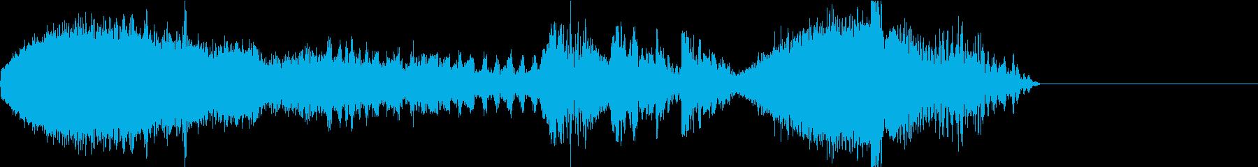 FMラジオ的ジングル7の再生済みの波形