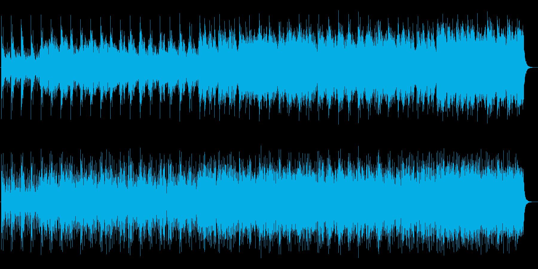 流麗で幻想的なテクノポップの再生済みの波形
