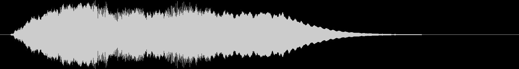 soft shaking jingleの未再生の波形