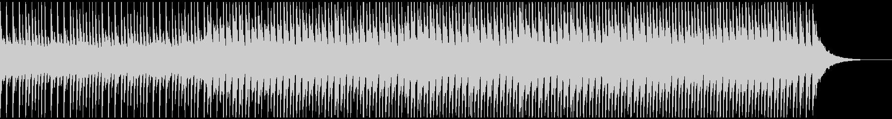 喜び(60秒)の未再生の波形