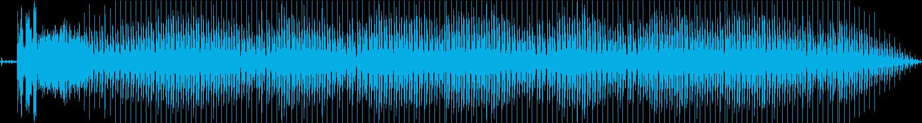 エンジンをかけるところからの再生済みの波形